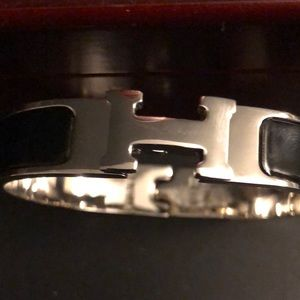 Hermès H clasp Bracelet
